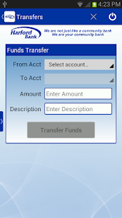 Harford Bank Mobile Banking - screenshot thumbnail