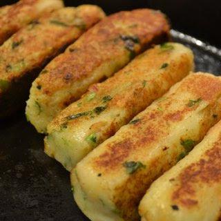 Potato Patty sticks.