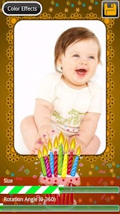 Birthday Photo Frames - screenshot thumbnail