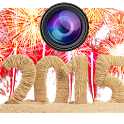 New Year Camera Photo Frame HD icon