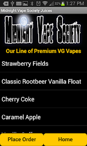 Midnight Vape Society screenshot 1