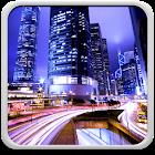 城市夜景的动态壁纸 icon