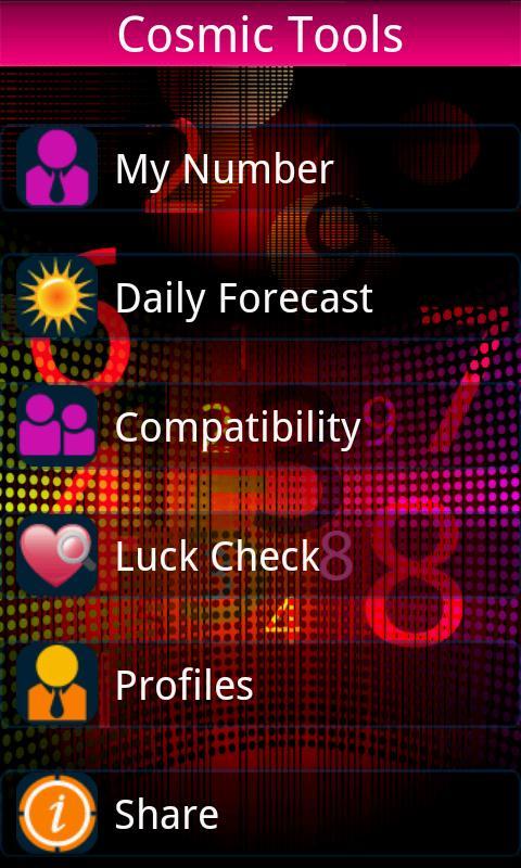 Cosmic Numbers - 2012- screenshot