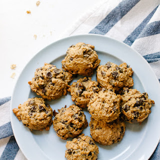 Maple Peanut Butter Chocolate Chip Oatmeal Cookies!.