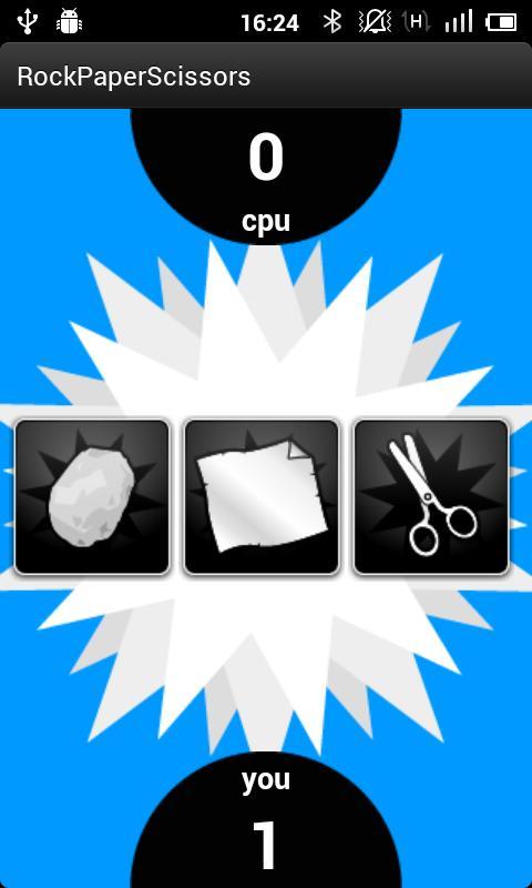 Rock, Paper, Scissors- screenshot
