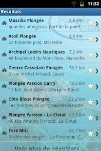 French Dive Directory- screenshot thumbnail