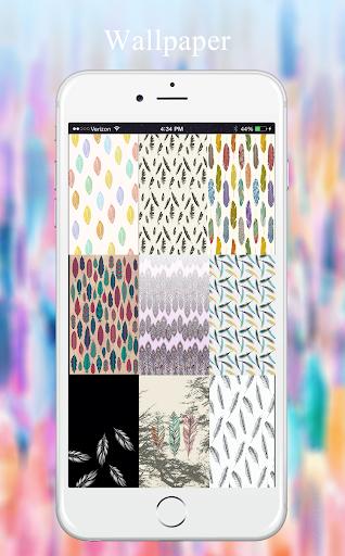 羽毛壁纸|玩個人化App免費|玩APPs