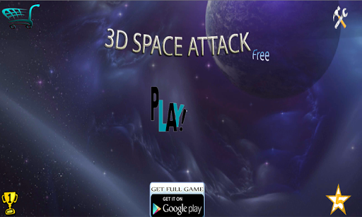 3D Space Attack Free