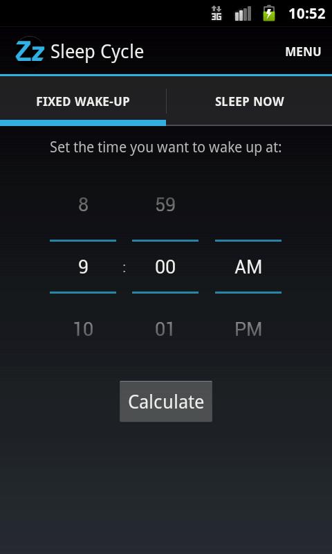 Sleep Cycle - screenshot