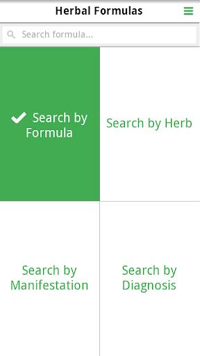TCM Herbal Formula Library