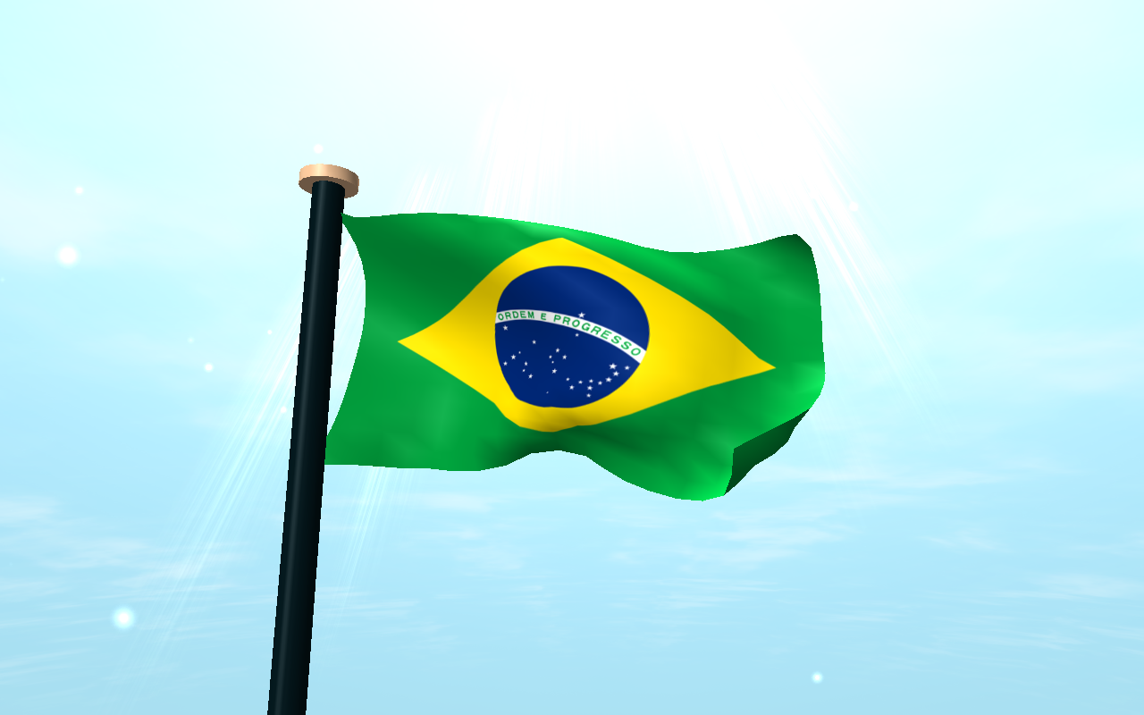 Brazil Flag 3d Free Wallpaper Android Apps On Google Play