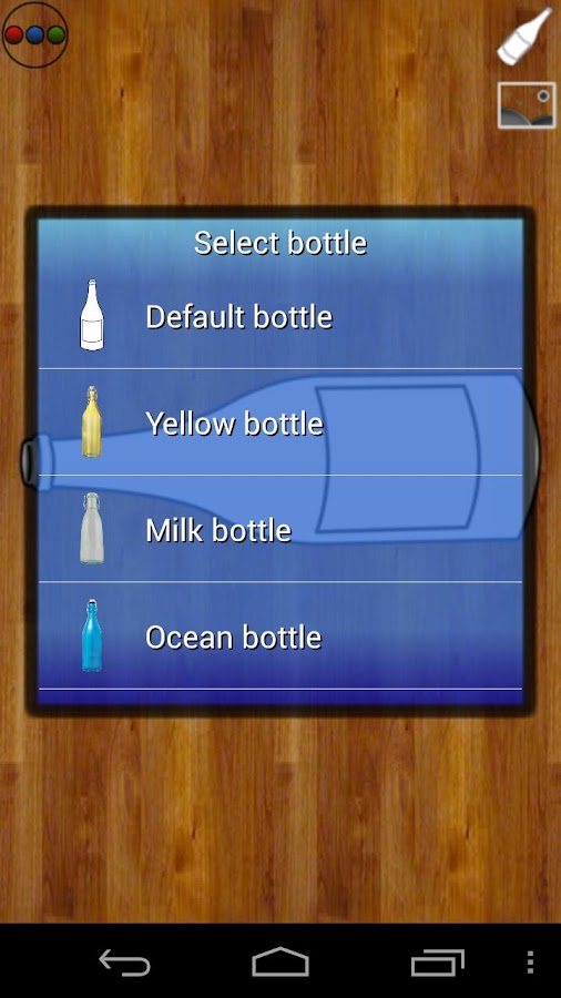 Bottle - screenshot