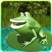Jumping Frog 3D (On the pond)