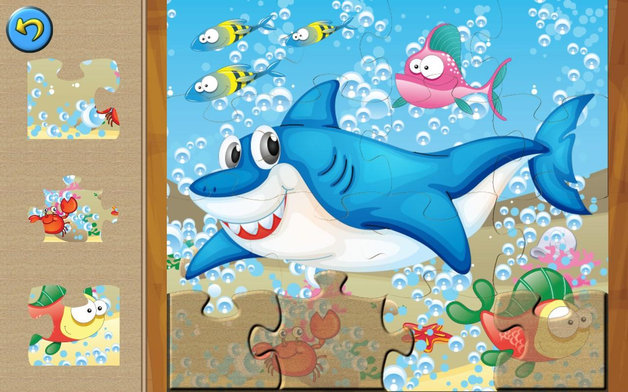 family games ocean animal puzzle game for kids android apps on