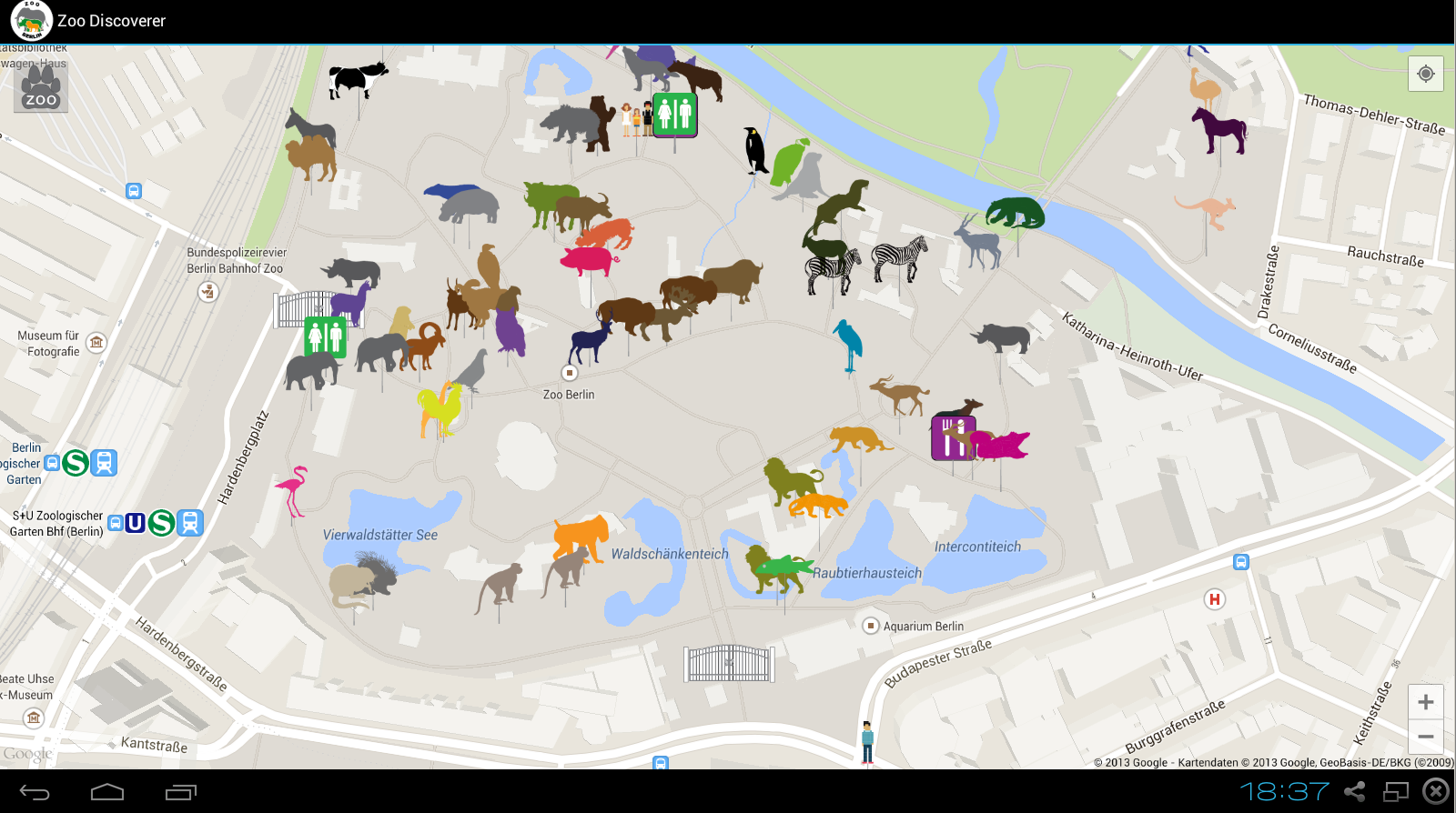 Berlin Zoo Discoverer – Android-Apps auf Google Play