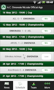 AC Omonoia Nicosia - Official - screenshot thumbnail