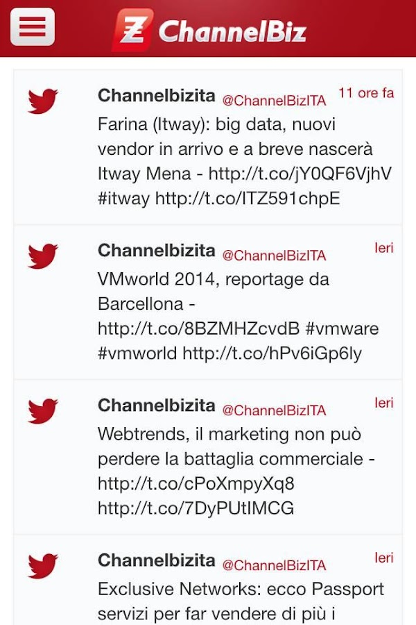 ChannelBiz.it- screenshot