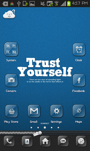 Trust yourself Go Launcher
