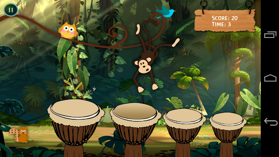 Kids Drums Monkey Dance