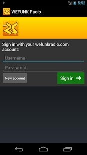 WEFUNK Radio (Official)- screenshot thumbnail