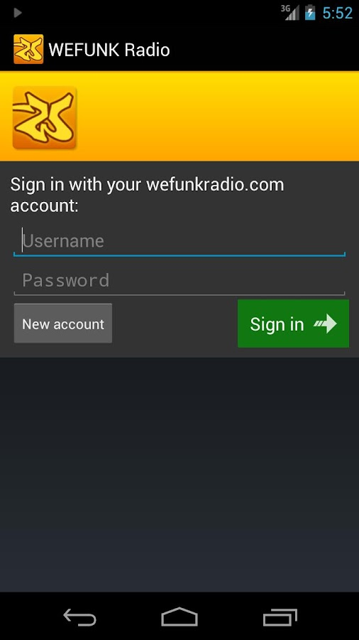 WEFUNK Radio (Official) - screenshot