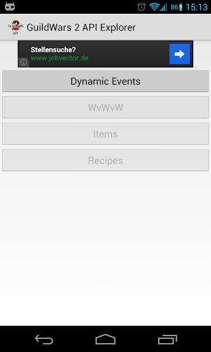 Guild Wars 2 API Explorer