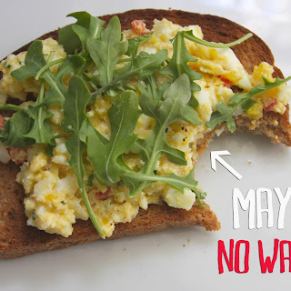 Fantastic Mayo-Free Egg Salad Sandwiches.