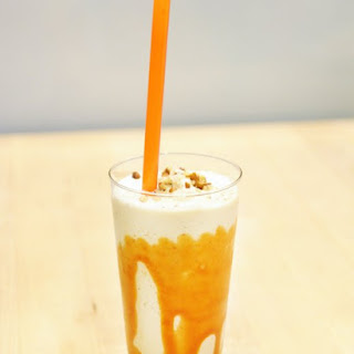 Salted Caramel-Pecan Shake