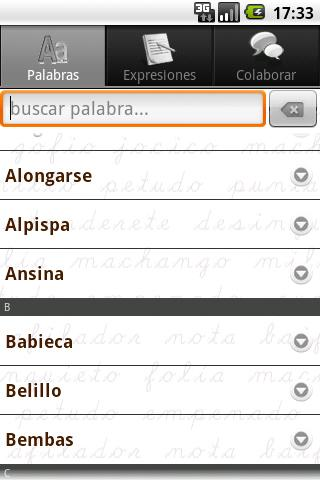 Palabras Canarias - screenshot