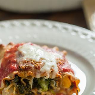 Vegetable Lasagna Roll ups