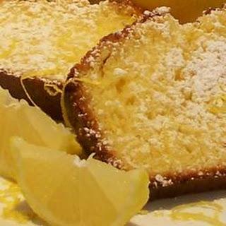 German Lemon Cake.