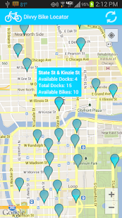 Divvy Bike Locator- screenshot thumbnail