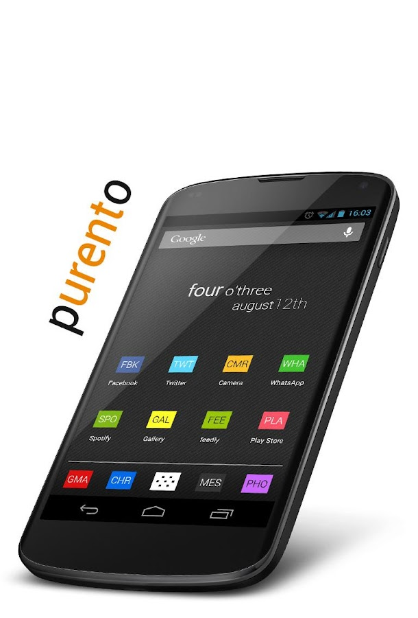 Purento (adw apex nova icon) - screenshot