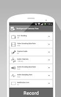 Screenshot of Background Camera Free