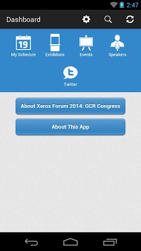 Xerox Forum 2014: GCR Congress