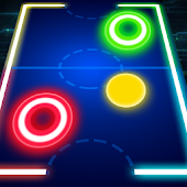 Glow Air Hockey Deluxe
