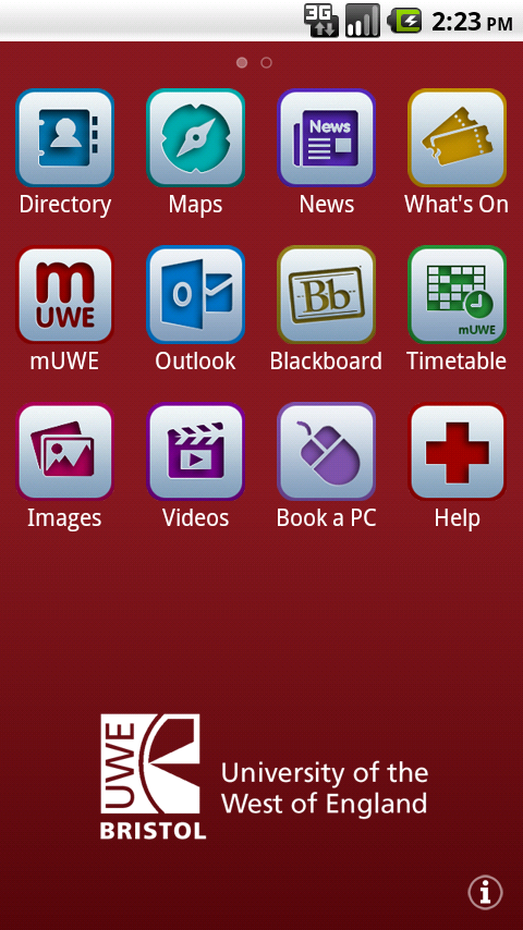 UWEmobile- screenshot