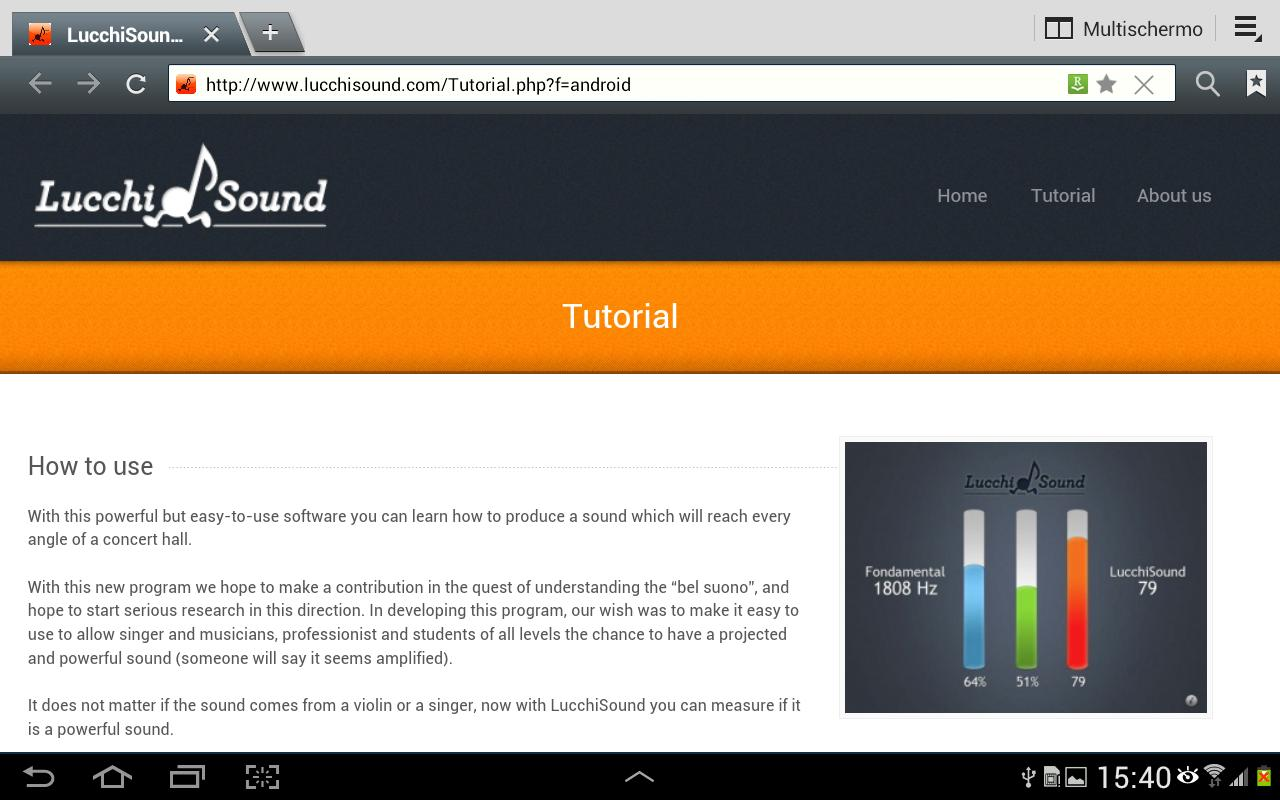 LucchiSound- screenshot