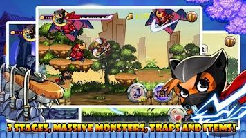 Screenshot of Nyanko Ninja