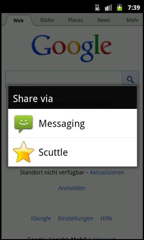 Scuttle – Screenshot
