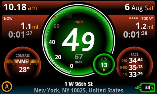 Ulysse Speedometer Pro V1.9.47 Mod APK 5