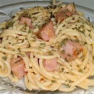 Italian Spaghetti with Ham.