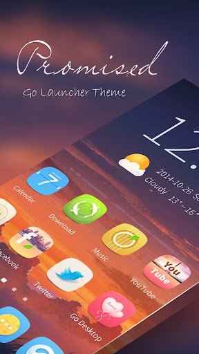 Promised GO Launcher Theme
