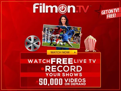 FilmOn EU Live TV Chromecast Screenshot 1