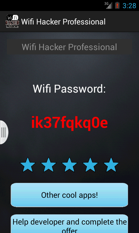 WIFI HACKER 2 (prank) - screenshot