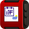 Agenda Watchface Weather icon