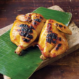Cambodian Grilled Chicken (Mann Oeng K'tem Sor, Marech)