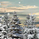 Winter Snow Trees 3D Trial LWP logo