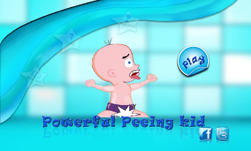 Powerful Peeing Kid- screenshot