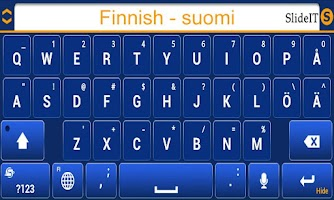 Screenshot of SlideIT Finnish Pack